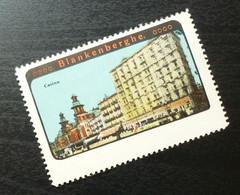 Germany Poster Stamp Belgium Blankenberge Casino View B6 - Erinnofilia