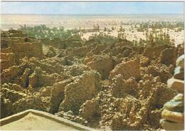 Republique Islamique De Mauritanie En Couleurs - Ouadane - Ruines De La Vieille Citée Du XVe Siècle - Mauritania