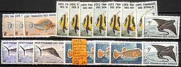 [835627]TB//*/Mh-c:17e-France (colonies) 1959 - Somalis, Poissons Divers Pour Nuances, Poissons, Animaux - Unused Stamps