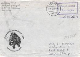 Illustriertes Kuvert Mammut Expedition Lena Delta Potsdam 2000 Entgelt Bezahlt Taxe Percue - Storia Postale