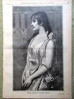 L'illustrazione Popolare 4 Dicembre 1898 Mascagni Iris Bernini Favilla Vucciria - Voor 1900
