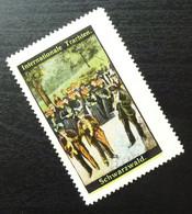 Germany Poster Stamp Schwarzwald Black Forest National Costume B18 - Erinnofilia