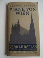 PLÄNE VON WIEN. 1:15 000 - AUSTRIA, FREYTAG & BERNDT U. ARTARIA., 1954. - Kaarten