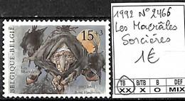 [839616]TB//**/Mnh-Belgique 1992 - N° 2466, Les Macrâles, Sorcières, SNC - Belgium