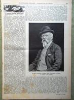 L'illustrazione Popolare 11 Dicembre 1898 Franco Tosi Bertini Amelia Pincherle - Voor 1900