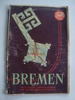 BREMEN. FALK PLAN.  GERMANY  1955 APROX. BORGWARD HANSA 1500 ADVERTISING. - Autres