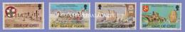 ISLE OF MAN 1974  HISTORICAL ANNIVERSARIES  S.G. 50-53  U.M. - Man (Insel)