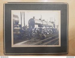 Photo Format 11.5 X 8.5 Angouleme La Gare Et Le Train 1924 - Angouleme