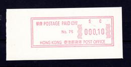 Atm  Frama Vending Vignettes Meter Distributeur China Hongkong  Hong Kong  Mint Mnh Postfrisch  Please Look Scan - Andere