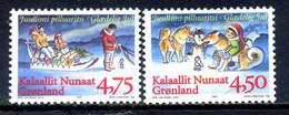 Greenland 1997 Groenlandia / Christmas MNH Weihnachten Natal Navidad Nöel / Hf32  34-32 - Christmas