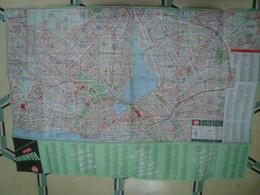 HAMBURG FALK PLAN - GERMANY, DEUTSCHLAND, 1955. - Maps