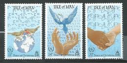 Ile De Man - Série Yvert N° 317 à 319 ** 3 Valeurs Neuves Sans Charniere - Az 28502 - Man (Insel)
