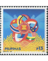 Ref. 565760 * MNH * - PHILIPPINES. 2015. 48TH ANNIVERSARY OF THE ASSOCIATION OF SOUTHEAST ASIAN NATIONS (ASEAN) . 48 AN - Philippines