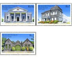 Ref. 191678 * MNH * - MAURITIUS. 2005. STONE BUILDINGS . EDIFICIOS DE PIEDRA - Mauritius (1968-...)