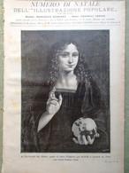L'illustrazione Popolare 25 Dicembre 1898 Natale Aleardi Bambole Betlemme Segni - Voor 1900