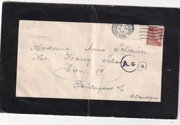 FRANCE 1941 AVIS DE DECES DE BOULOGNE-BILLANCOURT SEUL SUR LETTRE - Marcophilie (Lettres)