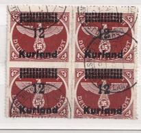 ALLEMAGNE   FELDPOST KURLAND MI N° 4B - Occupation 1938-45
