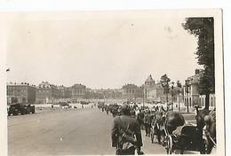 VERSAILLES ( 78 ) Photo Werhmacht WW2 , Arrivée Des Troupes Allemandes , Convoi . Juin 1940 . - 1939-45