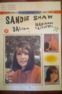 Book SANDIE SHAW DALIDA MARIANNE FAITHFULL & MICK JAGGER ROLLING STONES FOTO - Music
