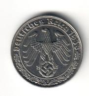 Germany 50 Pfennig 1938 J AUNC .SA. - [ 4] 1933-1945 : Troisième Reich