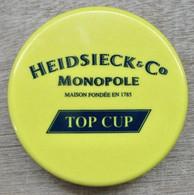 BOITE VERRE EN PLASTIQUE PLIANT GOBELET CHAMPAGNE HEIDSIECK & C° MONOPOLE MAISON FONDE EN 1785 TOP CUP - Glasses
