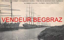 FROSSAY    AU MIGRON  VOILIER SUR LE CANAL - Frossay