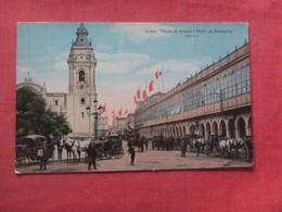 Lima Peru  Plaza De Armas  Ref  4376 - Peru