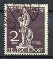 """Germany, Berlin 1949 Michel Nr. 41 """"75 Jahre Weltpostverein UPU,Heinrich Von Stephan """" 1 Wert Used-gestempelt - U.P.U."""