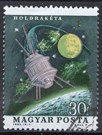 Espace 1964 Hongrie - Hungary - Ungarn Y&T N°1622 - Michel N°1991 (o) - 30fi Lunik - Raumfahrt