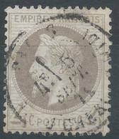 Lot N°58414  N°27B, Oblit Cachet à Date De PARIS (R. Du Cherche-Midi) - 1863-1870 Napoleone III Con Gli Allori