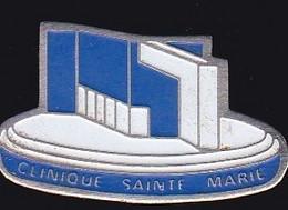 66847- Pin's. Médical.Clinique Sainte-Marie à Osny - Geneeskunde