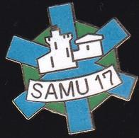 66850- Pin's. Médical.SAMU. 17 - Geneeskunde