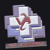 66851- Pin's. Médical.Var Assistance à La Valette Du Var Ambulance - Geneeskunde