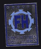 66860- Pin's. Médical.Santé.groupe FH Ortho . Heimsbrunn (Haut-Rhin). - Geneeskunde
