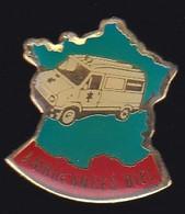 66865- Pin's. Médical.Santé.Ambulances Taxis Biel à Vouziers - Geneeskunde