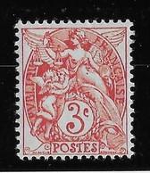 France N°109 Couleur Rouge - Neuf ** Sans Charnière - TB - Unused Stamps