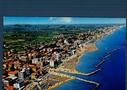 °°° Cartolina - Viserba Panorama Dall'aereo Viaggiata °°° - Rimini
