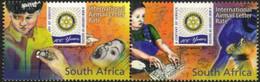South Africa - 2005 Centenary Of Rotary International Pair (**) # SG 1525a , Mi 1633-1634 - Rotary, Club Leones