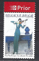 Cob 3349 , Tableau-La Violoniste, De Kees Van Dongen ** - Music
