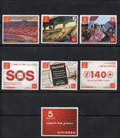 Lot De Télécartes De Recharge( 2 Scans) - Tunisia