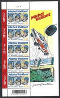 Cob 3350 Feuillet De 5 N° Planche, Michel Vaillant  ** - 2001-2010
