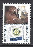 Belgique Yv 3337-cob 3352, Rotary International  ** - Rotary, Club Leones