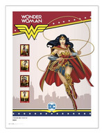 Portugal ** & Collector's Sheet, Justice League Series, DC Comics, Wonder Woman 2020 (68768) - Cinema