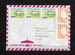 "1969 CUZCO → Airmail Mixed Franking ""Reforma Agraria""  To Zürich/Switzerland - Peru"