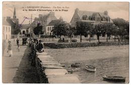 CPA 29 - LOCQUIREC (Finistère) - 13. Un Coin Du Port Et Hôtels D'armorique... - Locquirec
