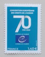 Frankrijk-France 2020 70th Anniversery Counsil Europe 2 - European Ideas