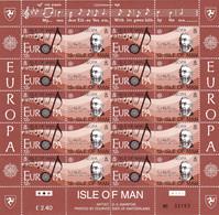Man Nº 273 Al 276 En Hojas De 10 Series - Man (Insel)