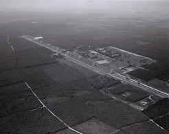Westerbork Synthese Radio Telescoop Luchtfoto LF76 - Holanda