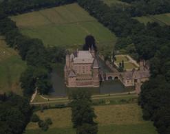 Heeswijk, Kasteel Heeswijk, Luchtfoto LF580 - Pays-Bas