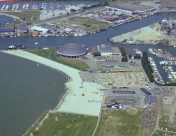 Harderwijk, Dolfinarium, Luchtfoto LF1216 - Harderwijk